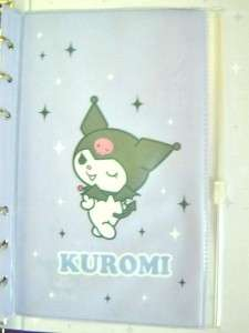 Sanrio Kuromi Devil Hardcover Note Book Diary +Stickers