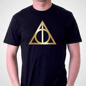 DEATHLY HALLOWS Symbol T SHIRT  Harry Potter