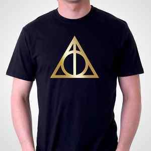 DEATHLY HALLOWS Symbol T SHIRT  Harry Potter