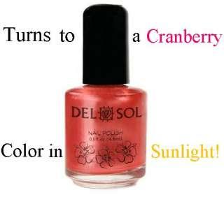 Del Sol ♥ Color Changing Nail Polish ♥ First Kiss ♥