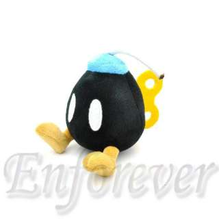 Super Mario Bros MINI LOVELY BOB OMB BOMB Cute Soft Plush Doll Toy