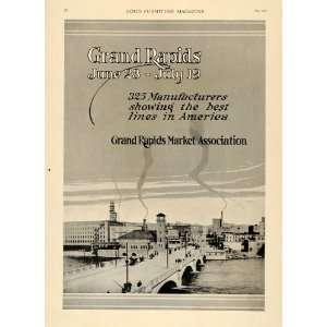 1919 Ad Grand Rapids Furniture Home Decor City Bridge