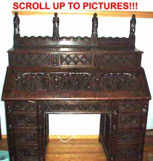 LIFE OF CHRIST HOLY BIBLE SECRETARY DESK Christian Church God