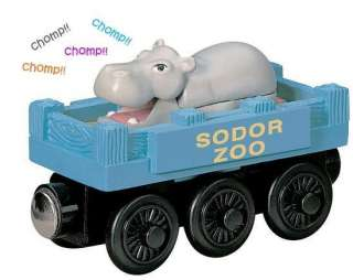 ZOO HIPPO CAR   Thomas The Wooden Tank Train Circus Set D NEW   USA