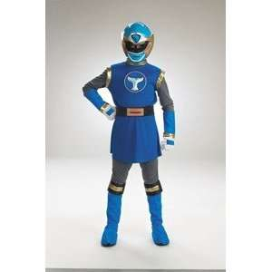 Power Ranger Blue Deluxe 7 10 Costume Toys & Games