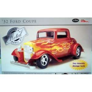 1932 Ford Coupe Metal Model Kit by Testors 124 Toys & Games