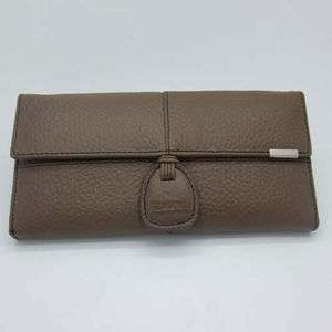 Womens Coffee Real Genuine Leather Bifold Clutch Wallet Purse ID Card