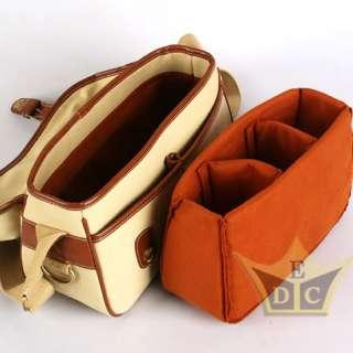DSLR SLR Camera & Lens CANVAS Shoulder Bag for Canon Nikon Sony Pentax