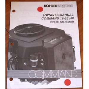 Engines Owners Manual Command 18 25 HP Vertical Crankshaft Command