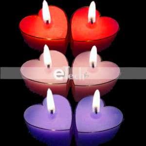 Heart Shape Tea Light Candle New design Xmas Home Decor