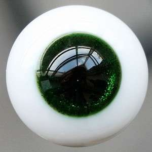10mm Dark Green For BJD Doll Dollfie Glass Eyes Outfit