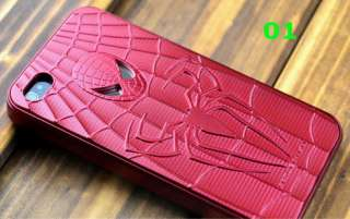 Spiderman Special Edition Hard Case Black or Red Free Protector