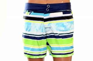 Diesel Mens Blan Swimwear Short Boxer Trunk Multi Color