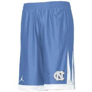 Tar Heels (UNC) Light Blue Dri Fit Training Shorts