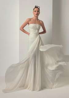 Chiffon Custom Made Beach Wedding dress 2012 Bridal Gown Free Size NEW
