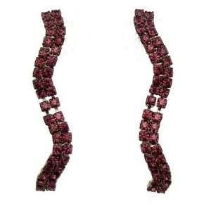 Acosta Jewellery   Purple Swarovski Crystal   Diamante