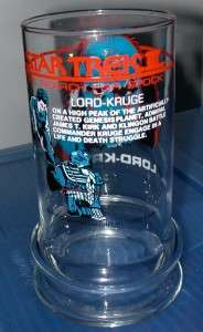 Star Trek III   1984   Taco Bell   Lord Krug Glass