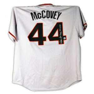 Willie McCovey San Francisco Giants Autographed Grey