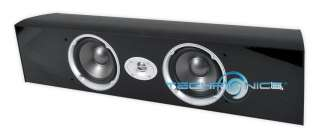 300W MAX DUAL 5 2 WAY CINEMA SOUND SERIES CENTER CHANNEL HOME SPEAKER