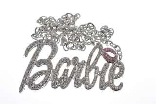 Nicki Minaj Style BARBIE Multi Stone Pendant with 18 Chain