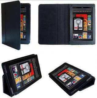 New Stand Folio PU Leather Case Cover For  Kindle Fire 7 Tablet