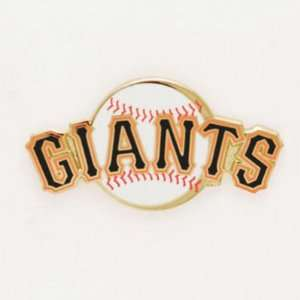 San Francisco Giants Official Logo Gold Lapel Pin Sports