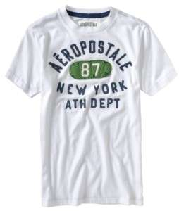 Mens Aeropostale New York Graphic Embellished T Shirt Size XXL