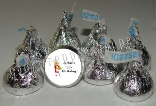 COOKING CHEF Party Candy Wrappers Kiss Labels Favors