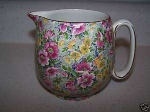 ELIJAH COTTON LORD NELSON WARE BRIAR ROSE CHINTZ JUG