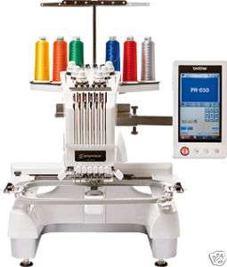 Brother Entrepren Pro PR650E 6 needle Embroidery Machine pr 650 e