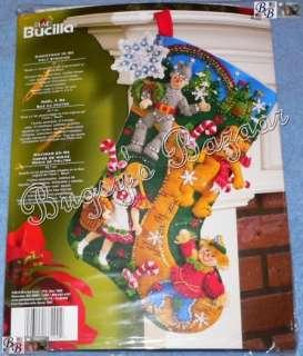 Bucilla Wizard of CHRISTMAS IN OZ Felt Stocking Kit