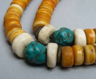 12 Old Tibet Tibetan Buddhist Yak Bone 108 Prayer Beads Mala