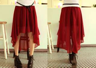 Trend Buoyant Best Mix Match Short front long back Skirt VC015