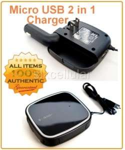 OEM T MOBILE 2 IN 1 MICRO USB CAR+HOME/WALL CHARGER
