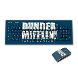 The Office Dunder Mifflin Keyboard & Mouse Set