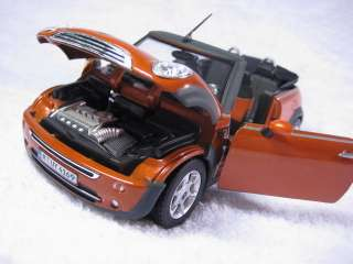 Mini Cooper Cabriolet Cararama Diecast Car Model 1/24