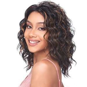 Model Model Synthetic Baby Hair Lace Front Wig   Clover 1