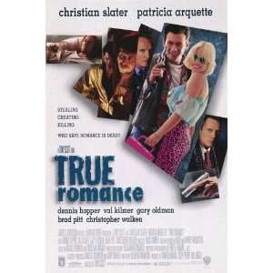 True Romance Original Double Sided 27x40 Movie Poster   Not A Reprint