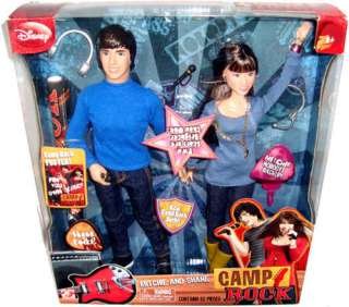 Disney Camp Rock Set of Dolls Mitchie & Shane MIB NEW