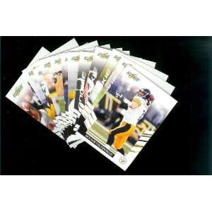 2007 Score Pittsburgh Steelers Team Set of 12 cards   Includes Ben