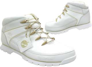 NEW MENS TIMBERLAND EURO SPRINT ANKLE WHITE BOOTS SHOES