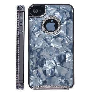 Luxury Marble Bling Pattern Diamond Hard Case for iPhone 4S/iPhone 4