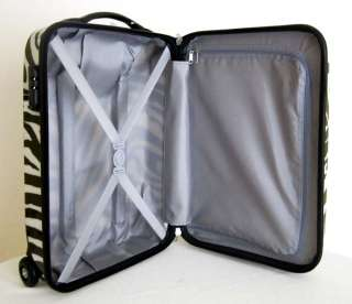 Carry On Travel Bag Rolling Wheel Luggage Locking Case Upright