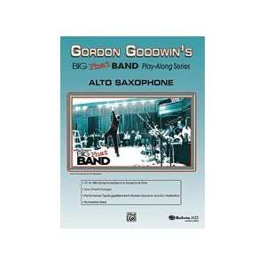 Goodwins Big Phat Band Play Along Series Alto Saxophone   Level 5 6