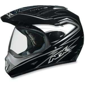 AFX FX 37 DUAL SPORT MOTORCYCLE HELMET BLACK MULTI 2XL
