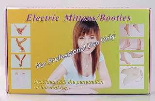 Set Electric Heated Mitten Hand Warmer Hand Spa J0825