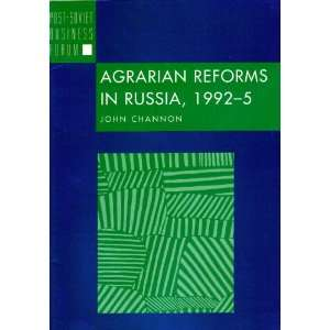 1995 (Post Soviet Business Forum) (9781899658299) John Channon Books
