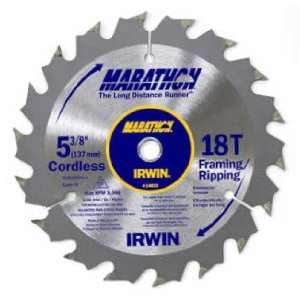 8in. 18 Tooth Framing/Ripping Marathon Cordless Circular Saw Blades