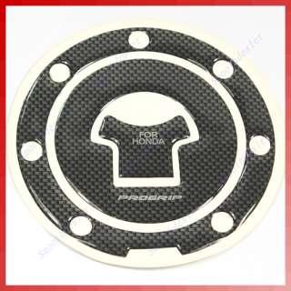 Carbon Fiber Fuel Tank Gas Cap Cover Pad For Honda