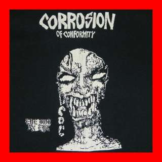 1984 CORROSION OF CONFORMITY EYE FOR AN EYE VTG T SHIRT